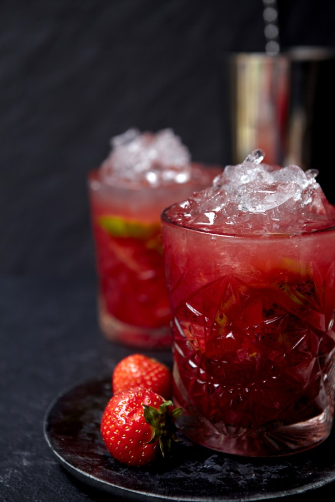 Strawberry+Caipirinha